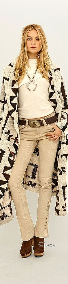 Ha! I wore something just exactly like this the other day. :) #NYFW Polo Ralph Lauren Fall/Winter 2015-16 RTW ♔THD♔
