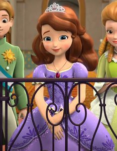 Sofia The First Episodes, Sofia The First Characters, Princess Sofia The First, Disney Princess Fashion, Disney Princess Cinderella, All Disney Princesses, Disney Fairies, Arte Disney, Disney Fun