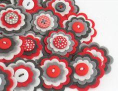 Sentivo abbellimenti floreali aggiungono un tocco speciale ai vostri progetti di artigianato da accessori per capelli per decorare cornici,