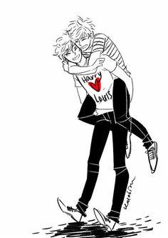 Harry  ❤ Louis