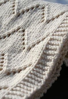 Cotton baby blanket, good for summer baby shower gifts.