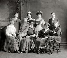 drama club, Washington School for Boys, 1910