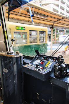 Streetcar in Nagasaki, Japan 長崎市電