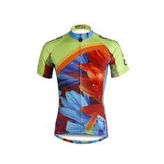 f17aac607 Ilpaladino Summer Women s Short-Sleeve Cycling Jersey Biking Shirts  Breathable Outdoor Sports Gear Leisure Biking