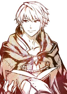 Fire Emblem Awakening: Robin --- Sooo, he's named Robin and has silver hair and is cute. Yup. I like this guy. <3