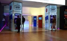 Agência Banco ActivoBank no Centro Comercial Amoreiras em Lisboa