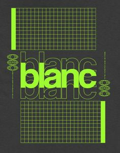 blanc in the dance tee Typographic Design, Graphic Design Posters, Graphic Design Typography, Branding Design, Typography Inspiration, Graphic Design Inspiration, Poster Layout, Typography Poster, Grafik Design