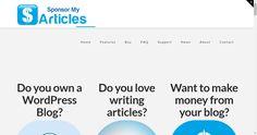 Sponsor My Articles