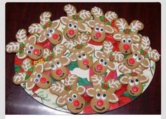 A quirky and alternative way to decorate gingerbread men...love it!
