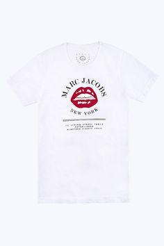 Marc Jacobs Lips Logo Tee