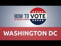 How To Vote In Washington DC - YouTube