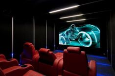 From rustic leather to modern fabrics, discover the top 70 best home theater seating ideas. Explore movie room furniture layouts and designs. Best Home Theater, At Home Movie Theater, Home Theater Design, Home Theater Seating, Theater Seats, Home Cinema Room, Home Theater Rooms, Bar Deco, Dreams