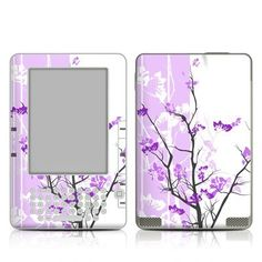 Violet Tranquility Design Protective Decal Skin Sticker for Amazon Kindle 2 E-Book Reader (2nd Gen) by MyGift. $14.99. This Kindle 2 skin decal is compatible with Kindle 2 (2nd Generation) ONLY. NOT for Kindle 3 (Lastest Generation).This scratch resistant skin sticker helps to protect your Amazon Kindle 2 E-Book Reader while making an impression. Self-adhesive plastic-coated skins cover the front and back of the Kindle 2 and are custom cut to perfectly fit the Amazon Kindle ...