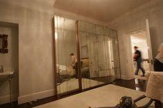 Art deco inspired antique mirror glass by Mirrorworks