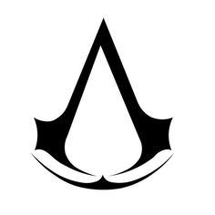 Assassin's Creed Logo Vinyl Decal 3in(8.5mm)