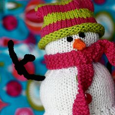 Knit yourself a snowman