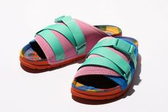 """People Footwear x Poler Summer Sandals Pool Slides, Dapper, Crocs, The Help, Footwear, People, Summer Sandals, Collection, Twitter"