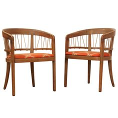 French art deco style chairs pair 1940 pinterest for 99chairs wohnzimmer