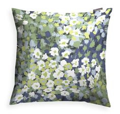 Leinikki Decorative Cushion Cover When spring arrives and even the sleepiest of eyes find the first flowers in bloom, wonderful things happen. Textiles, Blooming Flowers, Scandinavian Design, Needlework, Outdoor Blanket, Cushions, Tapestry, Throw Pillows, Home Decor