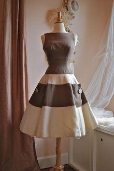 Cotton Pique 60's dress