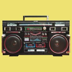 These were not boom boxes.  They were ghetto blasters, an admittedly racist reference that meant my parents insisted we just call them big radios.  The devices were associated with black culture and so the ghetto reference not only reinforced that association but then further implied an association with poverty and segregated living.