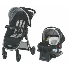 Conveniently travel with your child in and out of the car from infancy to toddlerhood with the Graco Modes Click Connect Travel System. Includes the versatile Modes lifestyle stroller and the top-rated SnugRide Click Connect 35 infant car seat. Travel Systems For Baby, Connect, Traveling With Baby, Baby Gear, Baby Car Seats, Baby Strollers, Action, Ebay, Baby Travel