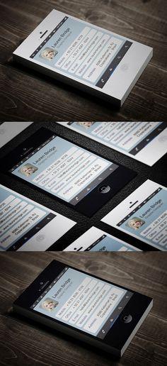 Mobile Business Cards Design #businesscards #businesscardsdesign #creativebusinesscards #corporatebusinesscards #visitingcards