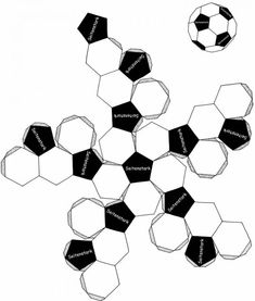 Fold a soccer ball out of paper (needs translation) Origami Candy Box, Diy Origami, Candy Gift Box, Candy Gifts, Free Printable Coloring Pages, Coloring Pages For Kids, Diy Arts And Crafts, Crafts For Kids, Diy Lace Ribbon Flowers