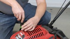 How to Repair the Starter Cord on a Toro Lawnmower : eReplacementParts.com