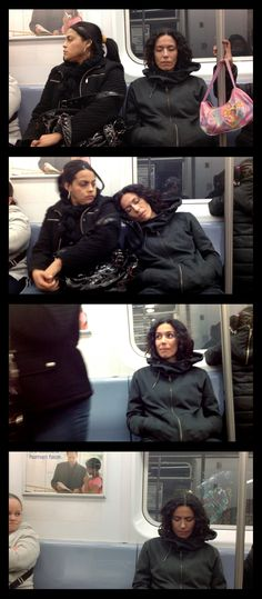 How New Yorkers Reacted When a Stranger Slept on Them in the Subway - Megan Garber - The Atlantic
