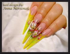 Apple Flowers by Arinita - Nail Art Gallery nailartgallery.nailsmag.com by Nails Magazine www.nailsmag.com #nailart
