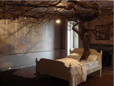 I wouldn't sleep on that bed, but I think it looks cool. Reminds me of Lords of the Rings for some reason