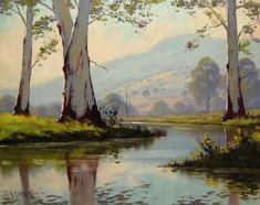 Gum Trees Australia by artsaus.deviantart.com on @deviantART