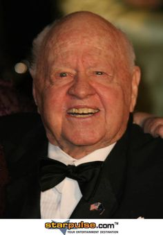 "Mickey Rooney (aka Ninian Joseph Yule, Jr) (1920 - ) - Actor, Soundtrack and Producer - Known for many films including ""The Fox and the Hound"" 1981, ""Night at the Museum"" 2006, ""National Velvet"" 1944, ""Breakfast at Tiffany's"" 1961, ""The New Adventures of the Black Stallion"" TV Series 1990-1993 and many more. Nominated for 4 Oscars"