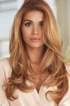 badfcff9995e Hair Styles 2018 50 of the Most Trendy Strawberry Blonde Hair Colors for  this year Discovred by   Byrdie Beauty