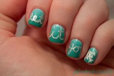 I am unfolding before you 15 + Disney Frozen themed & inspired nail art designs, ideas, trends & stickers of Disney Frozen Nails, Frozen Nail Art, Fancy Nails, Love Nails, How To Do Nails, Gorgeous Nails, Pretty Nails, Nutral Nails, Tumblr Nail Art