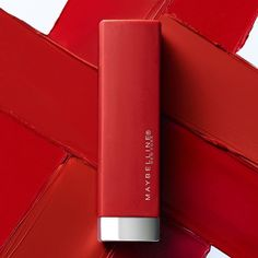 Red is always a good idea! Maybelline Matte Lipstick, Lipsticks, Good Things, Cosmetics, Neck Massage, Drugstore Beauty, Face, Instagram Posts, Colour
