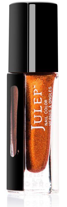 "Julep Nail Color in ""Tatiana"" (Golden burnt orange microglitter).  Retail $14.  Brand new. SELL PRICE: $6."