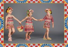 Discover the new Dolce&Gabbana Children Girl Collection for Summer 2017 and get inspired.