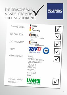 VOLTRONIC advertisement
