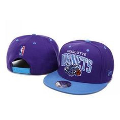 New Era New Orleans Hornets Snapback Hats - Purple Blue 75830c41d00