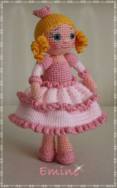 1000+ images about crocheted dolls and stuffies on ...