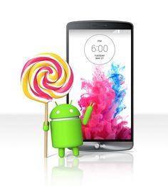 LG G3 sería el primer equipo con actualización a Android 5.0 Lollipop, aunque no a nivel global.  http://www.android.com.gt/2014/11/11/el-lg-g3-seria-el-primer-equipo-con-lollipop-antes-que-los-nexus/#sthash.JMyYMDfe.dpbs