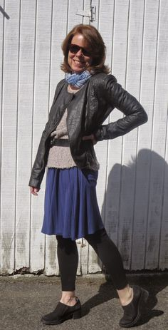 Good-bye parka and tall boots! I'm wearing layers and leggings for cooler spring temps. Fall Fashions, Tall Boots, New Day, New Outfits, Parka, Layers, Autumn Fashion, How To Make, How To Wear