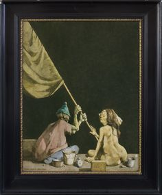 Jerzy Duda Gracz   <i>OBRAZ NR 848, 1984</i>   olej, płyta pilśniowa   72 x 64 cm