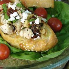 Chicken and Sun-Dried Tomato Bruschetta - Allrecipes.com