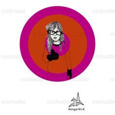 Dangerbird+Records+Poster+by+Edelweiss+on+CreativeAllies.com
