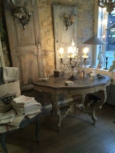 Chic Kitchen Country Awesome DIY Shabby Chic Furniture Makeover Ideas ⋆ Crafts and DIY Ideas Decoration Shabby, Shabby Chic Decor, Rustic Decor, Rustic Style, Shabby Chic Kitchen, Shabby Chic Homes, French Country House, French Country Decorating, French Furniture