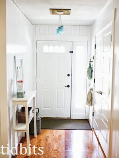 Entry Space Makeover - Tidbits