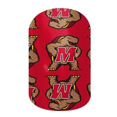 Maryland Terrapins | Jamberry #MARYLANDTERRAPINSJN